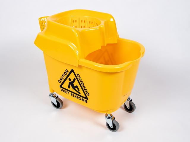 Prison Safe 33 Qt. Mop Bucket - Briarwood