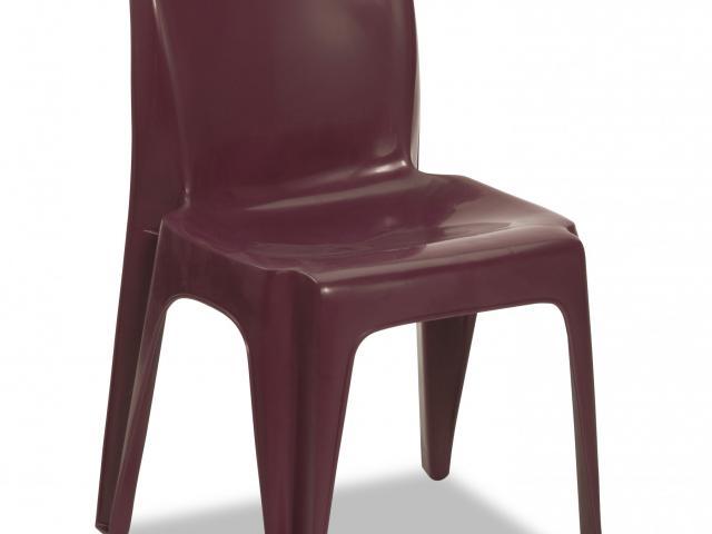 Integra Armless Chair - Wild Berry