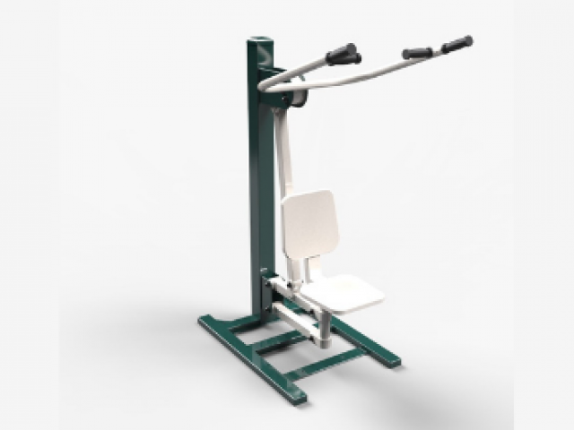 seated lat pull in correctional facilities - sws group