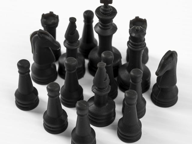 Silicone Game Pieces - Chess