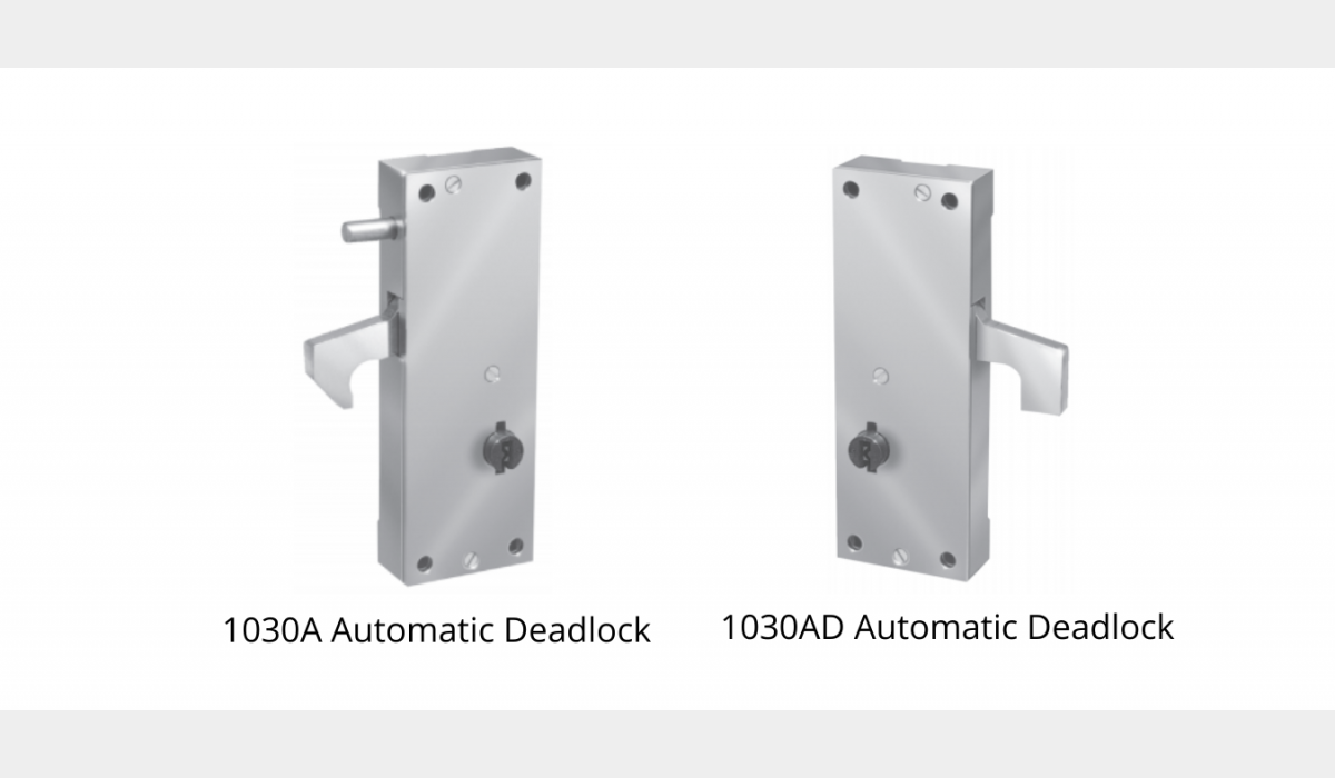 Mechanical Locks - Automatic Deadlock - SWS Detention Group