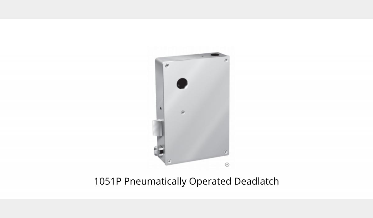 Pneumatic Locks - Deadlatch - SWS Detention Group