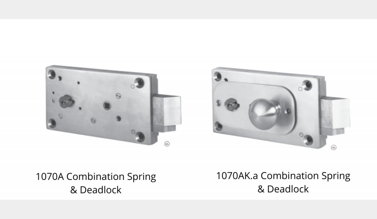 Mechanical Locks - Combination Spring & Deadlock - SWS Detention Group