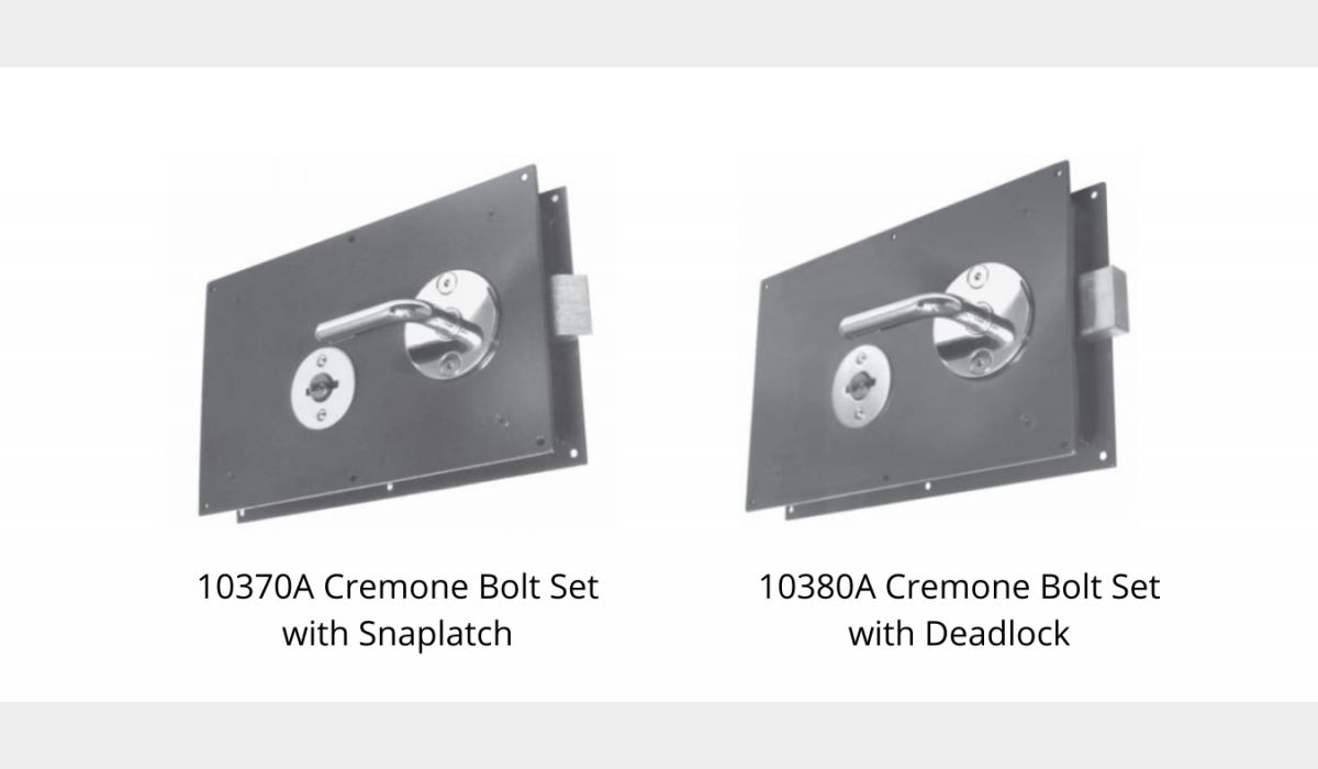 Mechanical Locks - Cremone Bolt Set - SWS Detention Group