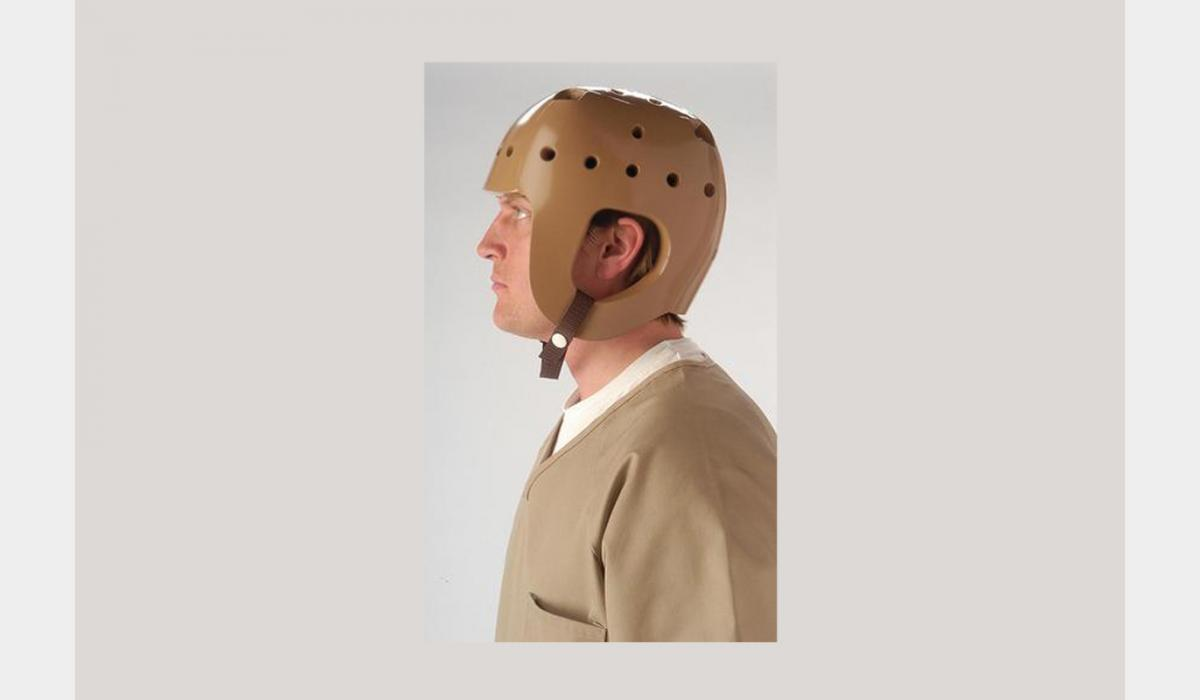 Soft Shell Protective Helmet by Humane Restraint