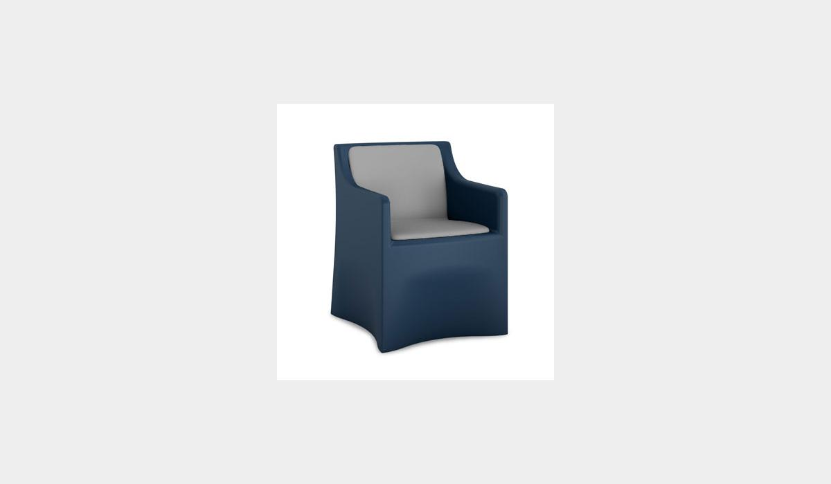 Vesta Arm Chair Upholstered