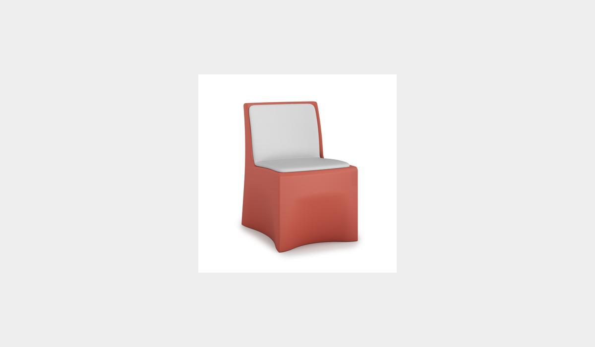 Vesta Armless Chair Upholstered